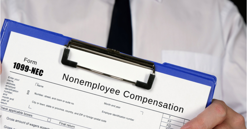 Form 1099-NEC is now used for reporting nonemployee compensation