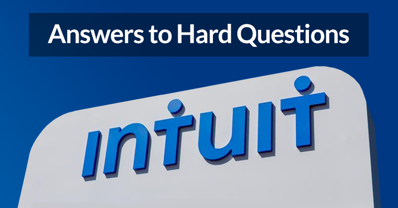 Intuit executives answer hard questions from ProAdvisors