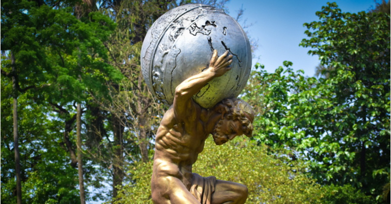 Like Atlas, bookkeepers and accountants often carry the weigh of worlds on their shoulders