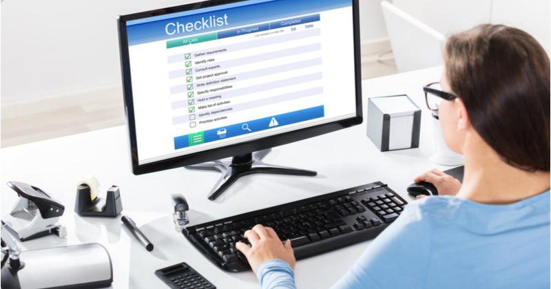 Documenting standardized processes with checklists improves efficiencies for accountants and bookkeepers