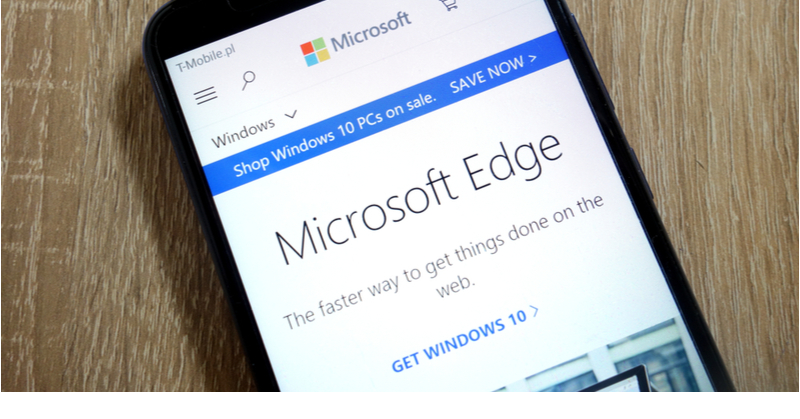 Microsoft Edge is a powerful browser