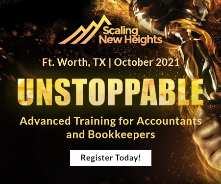 Register for Scaling New Heights to continue your accounting industry education.