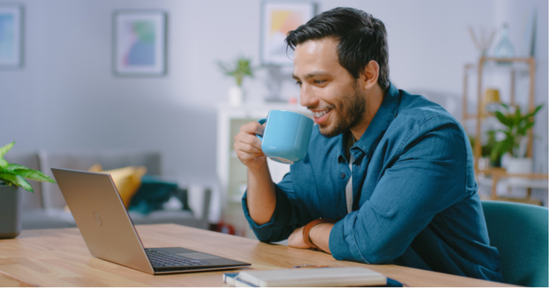 Working from home has benefits, including the possibility of tax deduction