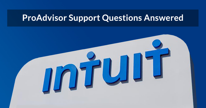 Answers to questions about investments in ProAdvisor Support