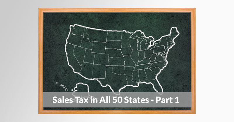 Sales Tax Contact Info for All 50 States - Part 1
