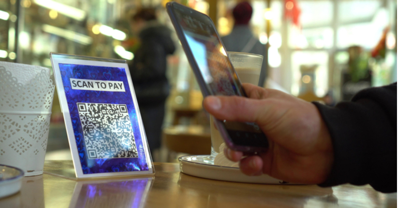 Mobile payments is one way businesses can use QR codes