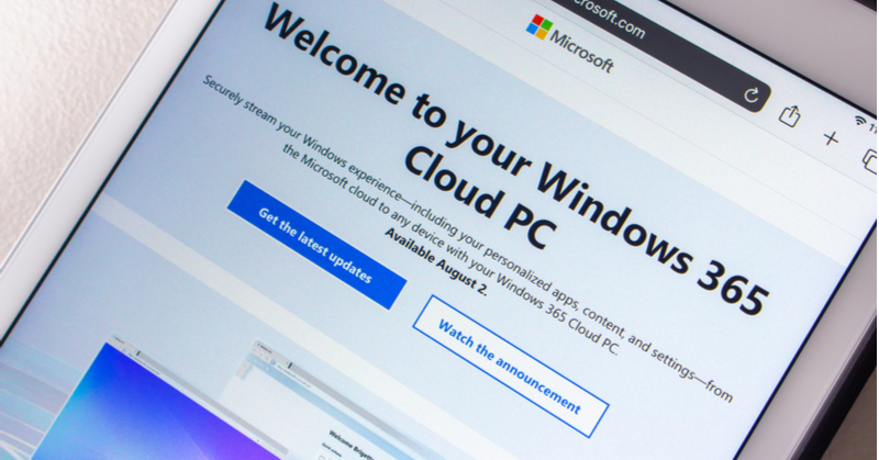 Windows 365 PC has four significant benefits for accounting professionals
