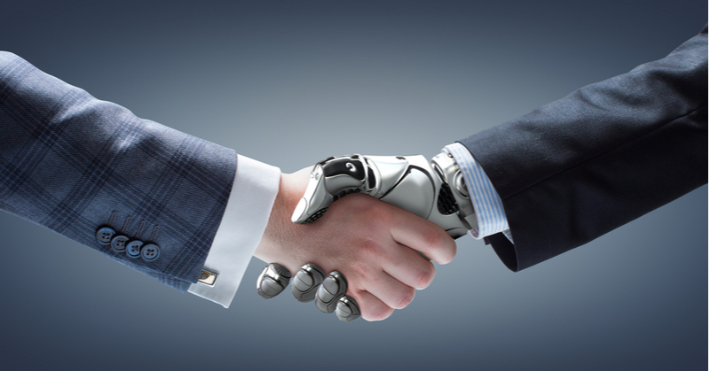 Automation supplements accounting work done by humans