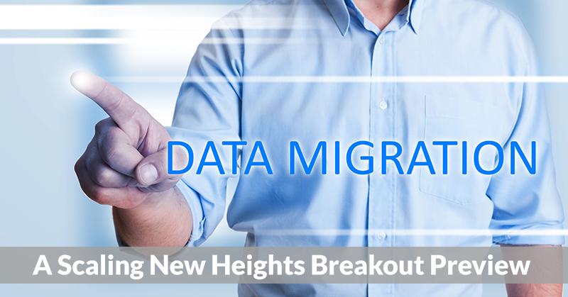 Data migration projects may create recurring engagements for accounting professionals