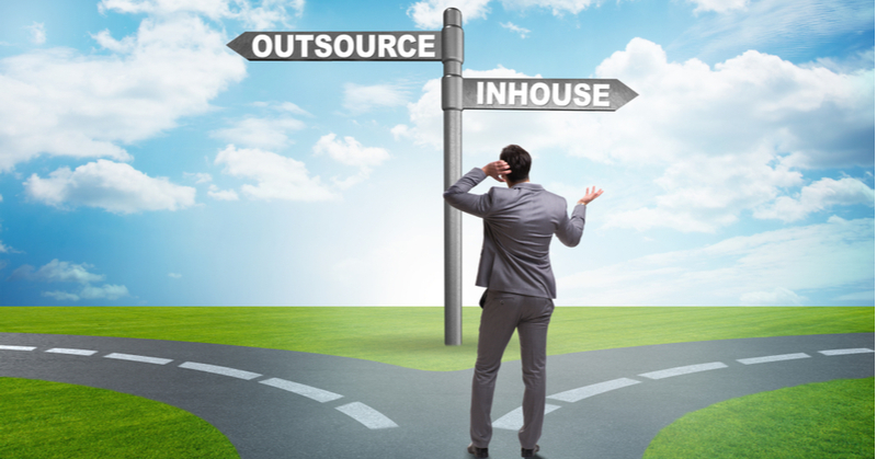 Accounting and bookkeeping practices should at least consider outsourcing