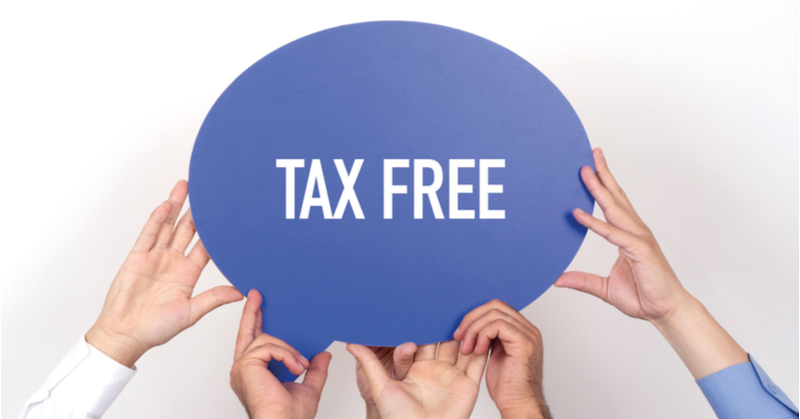 Many states offer tax free holidays for clothing, school supplies and a variety of other items