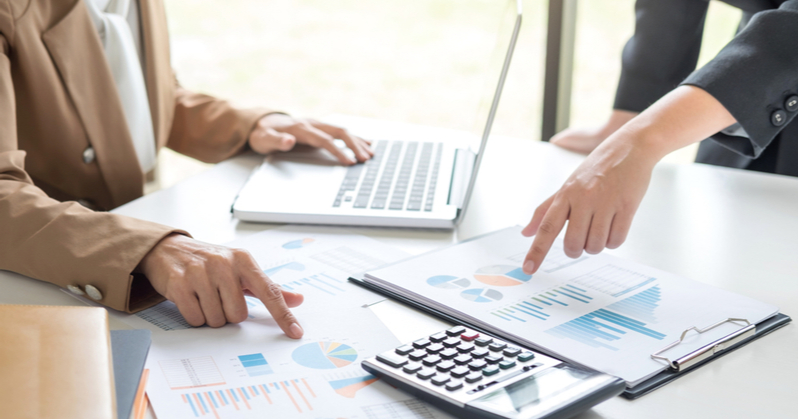 Setting up accounting software for client