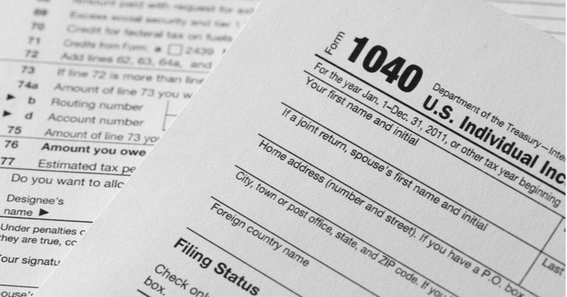 Form 1040 for 2021
